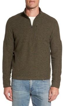 Ibex Men's Scout Jura Merino Wool Blend Quarter Zip Pullover