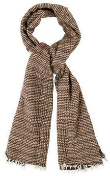 Tory Burch Striped Wool Scarf