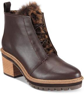 Kelsi Dagger Brooklyn Patterson Block-Heel Booties Women's Shoes
