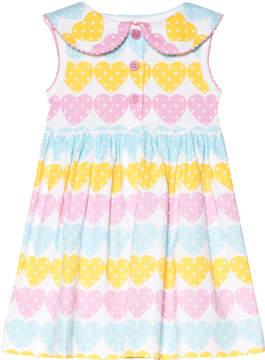 Rachel Riley Heart Jersey Dress