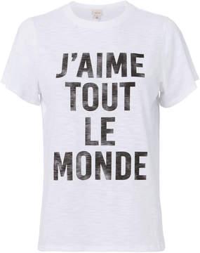 Cinq à Sept J'aime Tout Le Monde T-Shirt