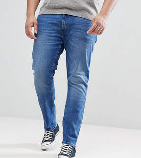 Lee PLUS Luke Skinny Jeans in Midwash