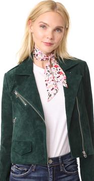 Kate Spade Bohemian Floral Skinny Scarf
