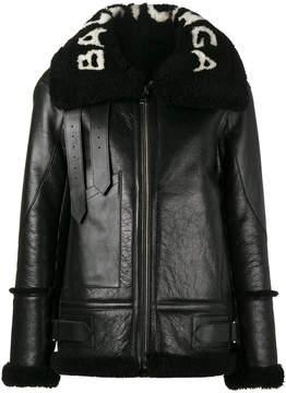 Balenciaga Le Bombardier leather jacket