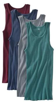 Fruit of the Loom Men's A-Shirts 4-Pack - Assorted Colors