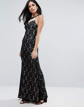 AX Paris Printed Bodycon Maxi Dress