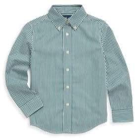 Ralph Lauren Little Boy's Bengal-Stripe Shirt