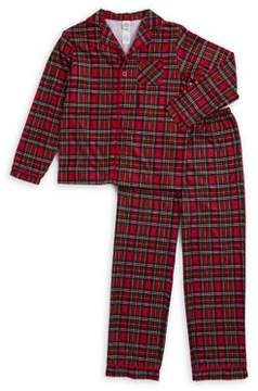 Little Me Boy's Plaid Pajamas