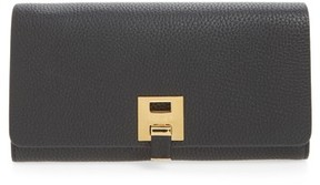 Michael Kors Women's Leather Continental Wallet - Black - BLACK - STYLE