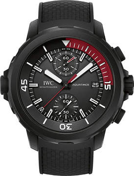 IWC IW379505 Aquatimer rubber-coated stainless steel watch