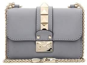 Valentino Lock Mini leather shoulder bag