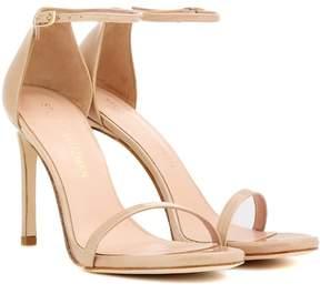 Stuart Weitzman Exclusive to mytheresa.com – Nudistsong patent leather sandals