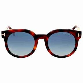 Tom Ford FT0435 Janina Round Sunglasses, 51mm