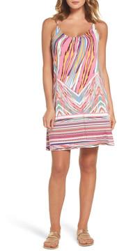 Felicity & Coco Print Slipdress (Regular & Petite) (Nordstrom Exclusive)