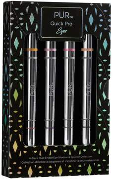 PUR Cosmetics Quick Pro Eyes 4-piece Eyeliner & Eyeshadow Set