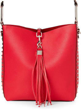 Urban Expressions Red Adele Studded Satchel