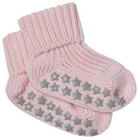 Falke Powder Rose Star Baby Socks