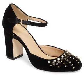 J.Crew Women's Embellished Mary Jane Pump