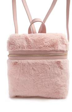 Forever 21 Faux Fur Backpack