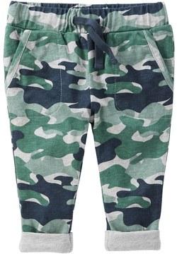 Osh Kosh Baby Boy Jersey-Lined Camo Pull-On Pants