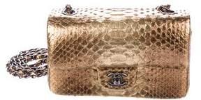 Chanel Python Mini Rectangular Flap Bag
