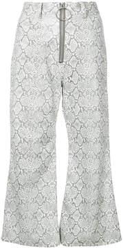 G.V.G.V. kick flare trousers