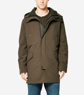 Cole Haan Utility Rain 3-in-1 Anorack with Primaloft