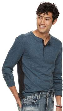Rock & Republic Men's Pieced Henley Top