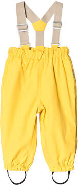 Mini A Ture Sunshine Yellow Dungarees