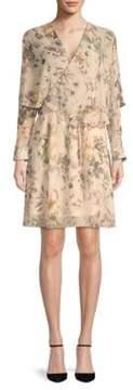 ABS by Allen Schwartz Floral Popover Dress