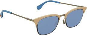 Fendi Blue Square Sunglasses