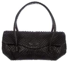 Tod's Snakeskin Handle Bag
