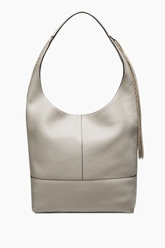 Rebecca Minkoff Unlined Slouchy Boho Hobo Bag With Whipstitch - ONE COLOR - STYLE