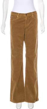 Adriano Goldschmied Mid-Rise Flared Pants w/ Tags