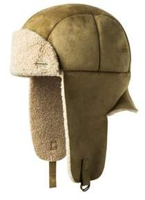 Kangol Unisex Faux Shearling Aviator Hat.
