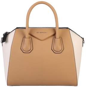Givenchy Beige And White Small Antigona Bag