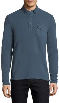 Michael Bastian Gray Label Men's Cotton Rugby Polo