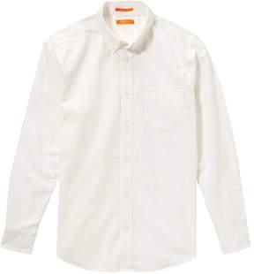 Joe Fresh Men's Classic Fit Oxford Shirt, White (Size S)