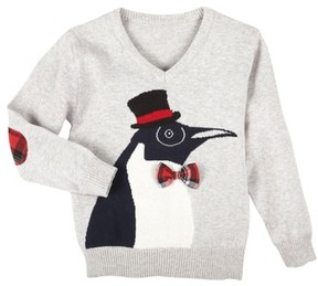 Andy & Evan Infant Boy's Christmas Penguin Sweater