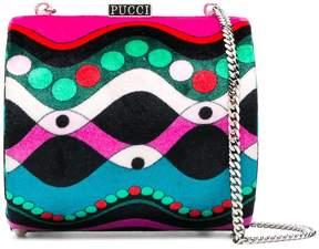 Emilio Pucci printed shoulder bag
