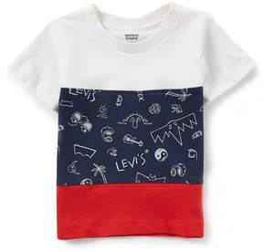 Levi's Baby Boys 12-24 Months Colorblock Short-Sleeve Tee