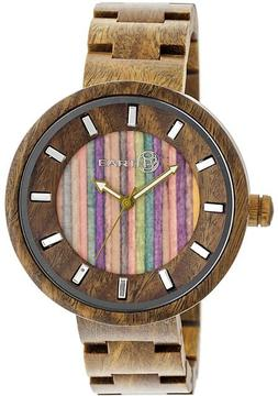 Earth Root Collection ETHEW2508 Unisex Wood Watch with Wood Bracelet-Style Band