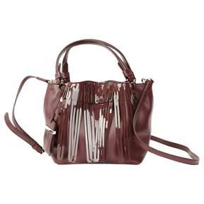 Tod's Purple Leather Handbag