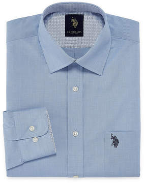 U.S. Polo Assn. USPA Long Sleeve Yarn Dyed Woven Dress Shirt - Slim