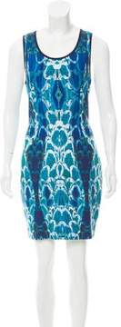 Alberto Makali Printed Mini Dress