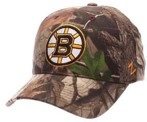 Zephyr Adult Boston Bruins Patent Camo Snapback Cap