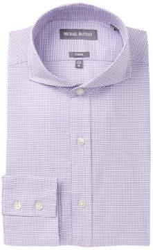 Michael Bastian Geo Print Trim Fit Dress Shirt