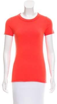 Blumarine Cashmere Short Sleeve Top