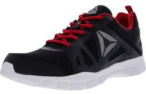 Reebok Men's Trainfusion Nine 2.0 Lmt Black / Excellent Red White Ankle-High Mesh Training Shoes - 11M