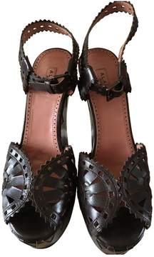 Alaia Leather sandals